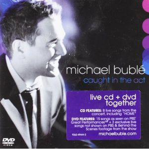 Michael Bublé - Caught in the Act - Cd+Dvd  - Billbox Records