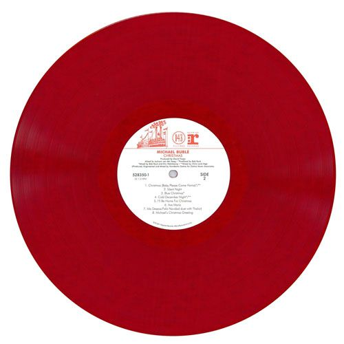 Michael Bublé Christmas (Colored Vinyl, Red) - LP Importado  - Billbox Records