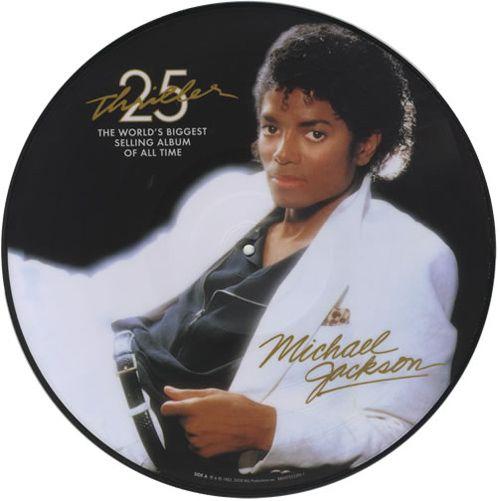 Michael Jackson - Thriller (Picture Disc) - Lp Importado  - Billbox Records