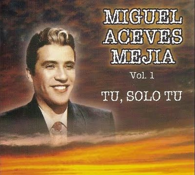 Miguel Aceves Meji - Vol.1 - Tu, Solo Tu - Cd Nacional  - Billbox Records