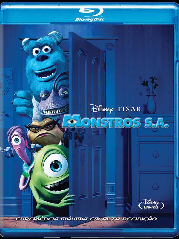 Monstros S.A. - Blu Ray Nacional  - Billbox Records
