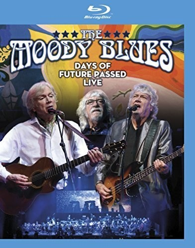 Moody Blues - Days Of Future Passed Live - Blu Ray Importado  - Billbox Records