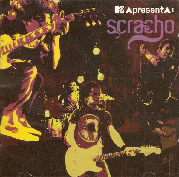 Mtv Apresenta Scracho - Cd Nacional  - Billbox Records