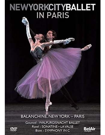 New York City Ballet in Paris - Dvd Importado - Billbox Records