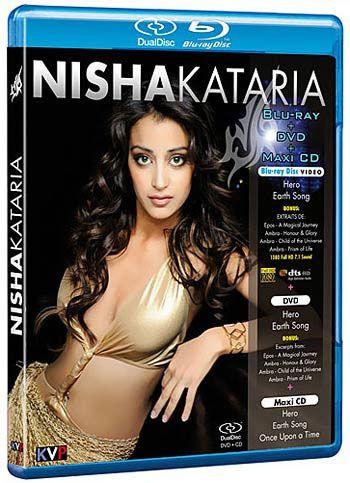 Nisha Kataria - Blu Ray + Dvd + Maxi Cd Importados  - Billbox Records