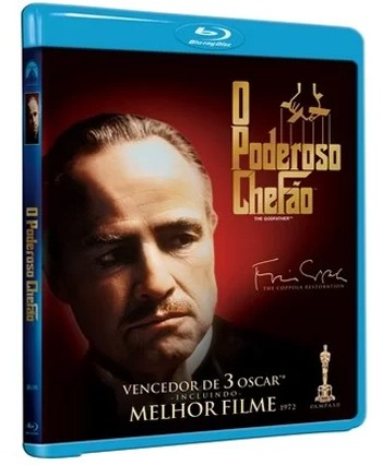 O Poderoso Chefao - The Coppola Restoration - Blu Ray  - Billbox Records