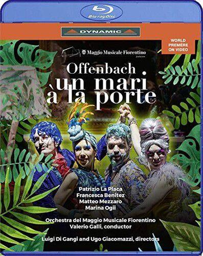 Offenbach Un Mari A La Porte - Blu Ray Importado  - Billbox Records