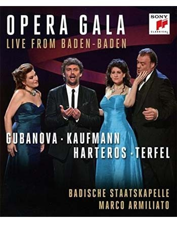 Opera Gala - Live from Baden-Baden - Blu Ray Importado  - Billbox Records