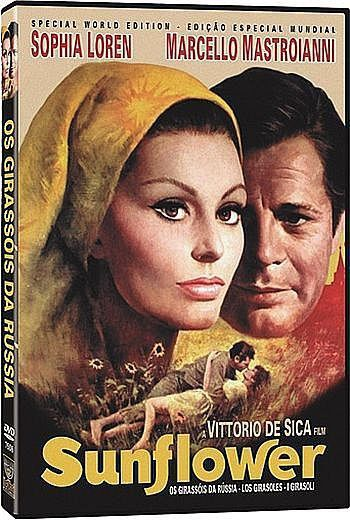 Os Girassois da Russia - Filme Dvd Nacional  - Billbox Records