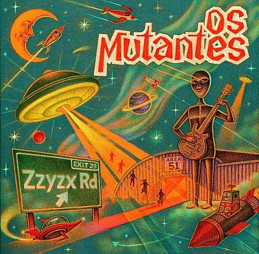 Os Mutantes ZZYZX - Cd Nacional  - Billbox Records