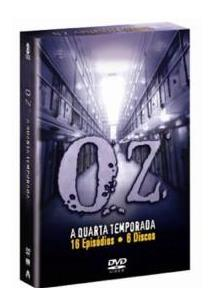 Oz - QuartaTemporada Completa - Box Dvd Nacional  - Billbox Records