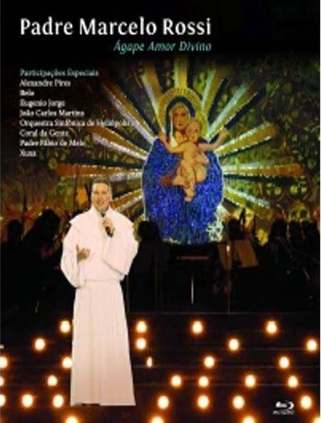 Padre Marcelo Ross Agape Amor Divino - Blu Ray Nacional  - Billbox Records