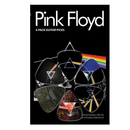 Palheta Pink Floyd - Pacote 6 Unidades  - Billbox Records