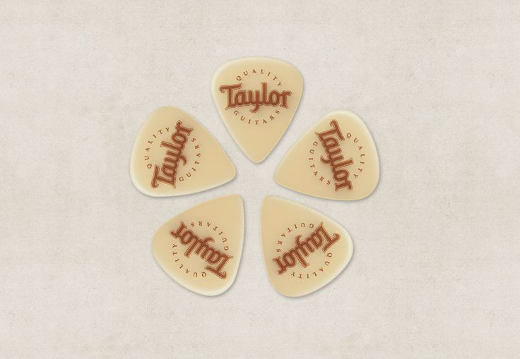 Palheta Taylor - Bege  - Billbox Records