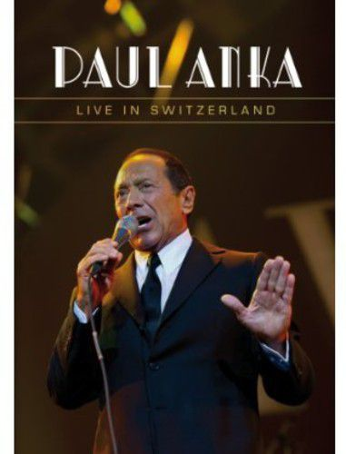 Paul Anka - Live In Switzerland - Dvd Importado  - Billbox Records