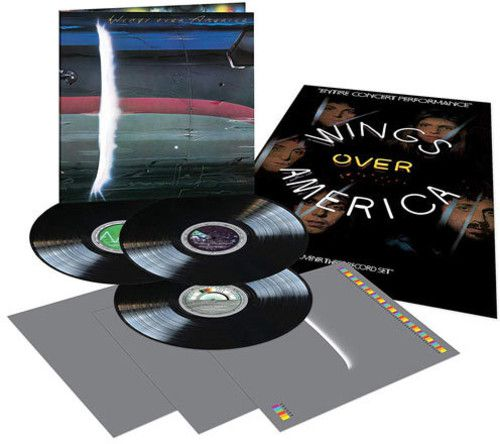 Paul McCartney & Wings - Wings Over America Vinil 180 Gramas- 3 Lps Importados   - Billbox Records