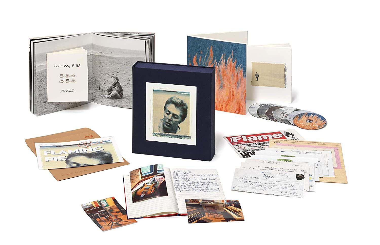Paul McCartney Flaming Pie (Super Deluxe Edition) - 5 SHM-CDs, 2 Dvds,  Japones Boxed Set Importado  - Billbox Records