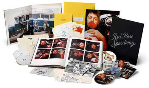 Paul McCartney - Red Rose Speedway - Cd, Dvd, Blu ray  Boxed Set Importado  - Billbox Records