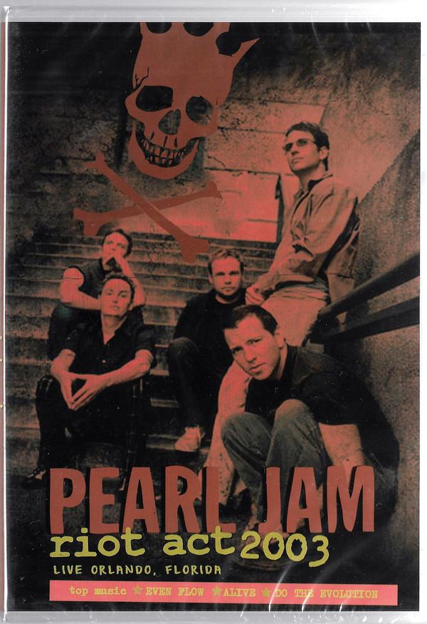 PEARL JAM RIOT ACT 2003 LIVE IN ORLANDO, FLORIDA - DVD NACIONAL  - Billbox Records