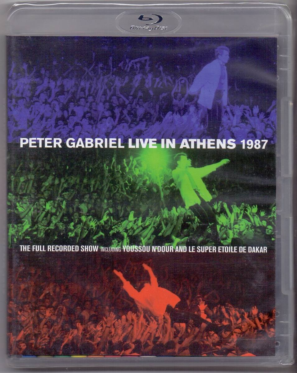Peter Gabriel - Live In Athens 1987 - Blu Ray Nacional  - Billbox Records