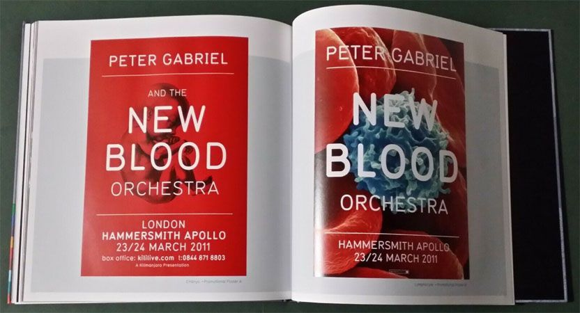 Peter Gabriel - New Blood Live in London - Deluxe Edition Cd/Dvd/Blu Ray - Box Importado  - Billbox Records