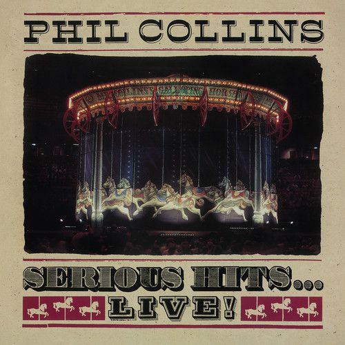 Phil Collins   Serious Hits Live - 2 Lps Importados  - Billbox Records