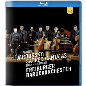 Philippe Jaroussky Bach & Telemann -  Sacred Cantata - Blu ray  - Billbox Records