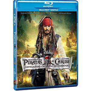 Piratas Do Caribe / Navegando Em Aguas Misteriosas - Blu Ray Duplo  - Billbox Records
