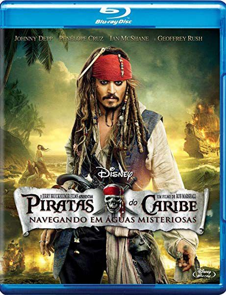 Piratas Do Caribe Navegando Em Aguas Misteriosas - Blu ray Nacional  - Billbox Records