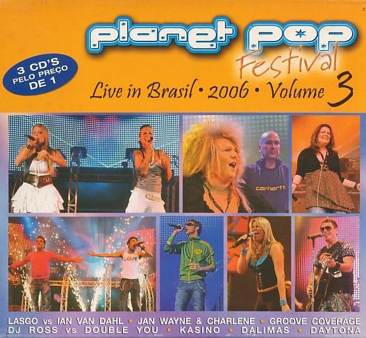 Planeta Pop Festival Volume 3 - Cd Nacional  - Billbox Records