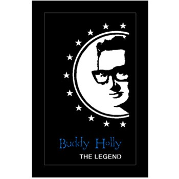 Quadro Led  - Buddy Holly Legend  - Billbox Records