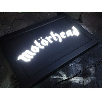 Quadro Led  - Motorhead  - Billbox Records