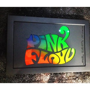 Quadro Led  - Pink Floyd Color  - Billbox Records