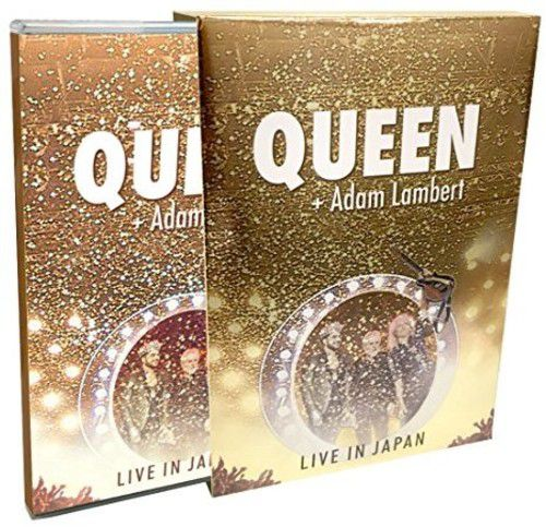 Queen - Adam Lambert - Live In Japan Summer Sonic 2014 - 2 Blu Rays Importados  - Billbox Records