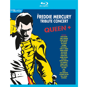 Queen / Freddie Mercury Tribute Concert - Blu ray Importado  - Billbox Records
