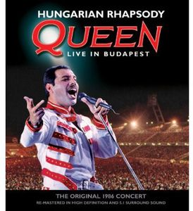 Queen - Hungarian Rhapsody - Blu ray Importado  - Billbox Records