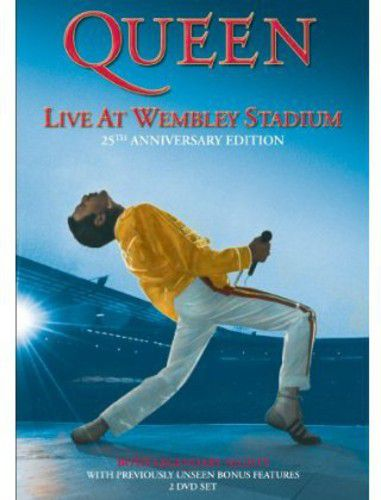 Queen Live at Wembley DVD  - Billbox Records