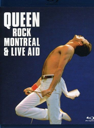 Queen - Queen Rock Montreal & Live Aid  - Blu ray Importado  - Billbox Records
