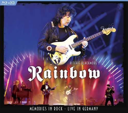 Rainbow - Ritchie Blackmore - Memories In Rock - Live In Germany  - Blu Ray + 2 Cds Importados  - Billbox Records