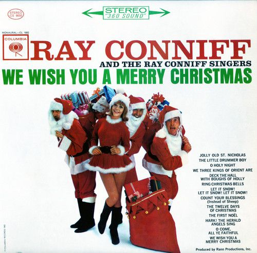 Ray Conniff We Wish You a Merry Christmas 180 Gram Vinyl, Limited Edition, Colored Vinyl White - Lp Importado  - Billbox Records