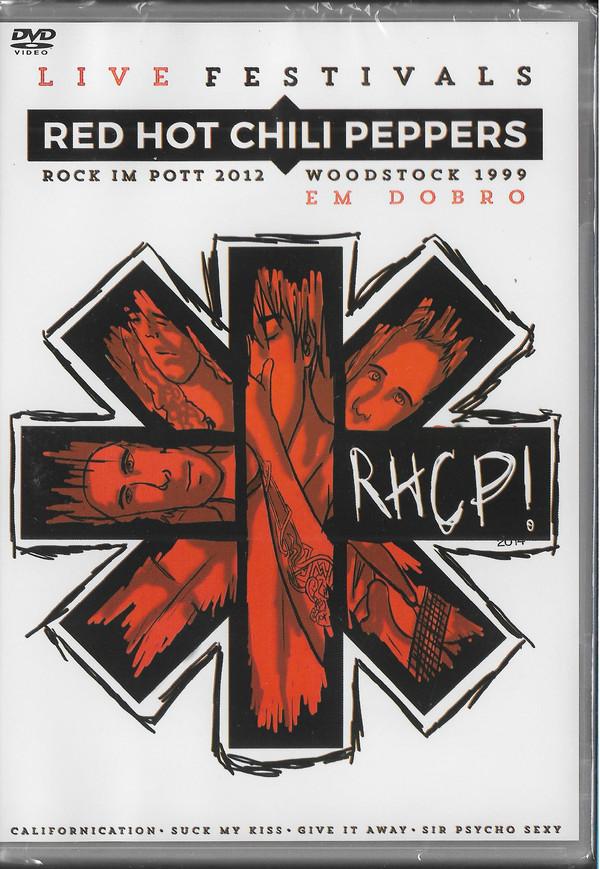 RED HOT CHILLI PEPPERS EM DOBRO - ROCK IN POTT 2012 - WOODSTOCK 1999 - DVD NACIONAL  - Billbox Records