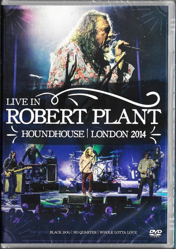 ROBERT PLANT - HOUNDHOUSE LONDON 2014  - DVD NACIONAL  - Billbox Records