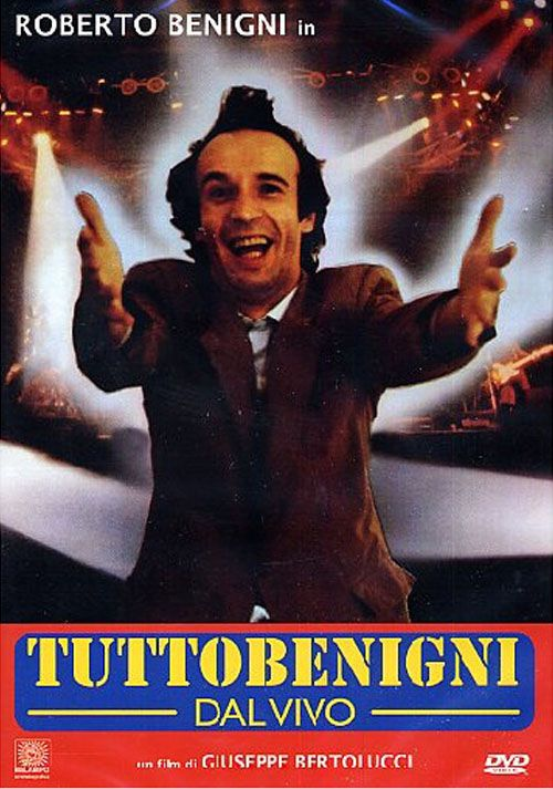 Roberto Benigni - Tutto Benigni Dal Vivo- Blu ray Importado  - Billbox Records