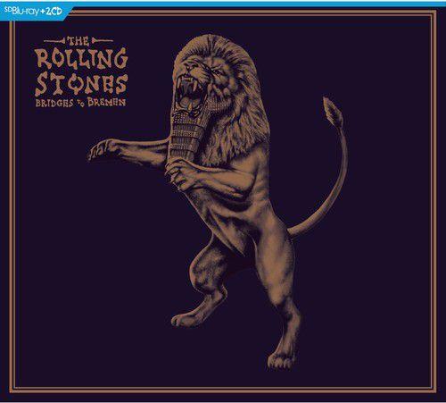 Rolling Stones Bridges To Bremen - 2 Cds + Blu Ray Importados  - Billbox Records