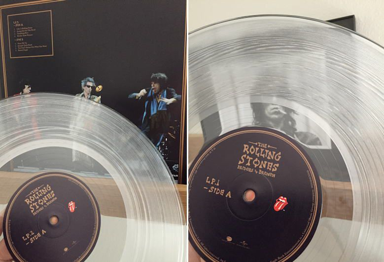 Rolling Stones Bridges To Bremen (Limited Edition Clear Vinyl Version) - 3 Lps Importados  - Billbox Records