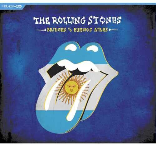 Rolling Stones Bridges To Buenos Aires - 2 Cds + Blu Ray Importados  - Billbox Records