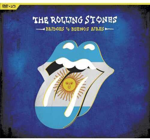 Rolling Stones Bridges To Buenos Aires - 2 Cds + Dvd Importados  - Billbox Records