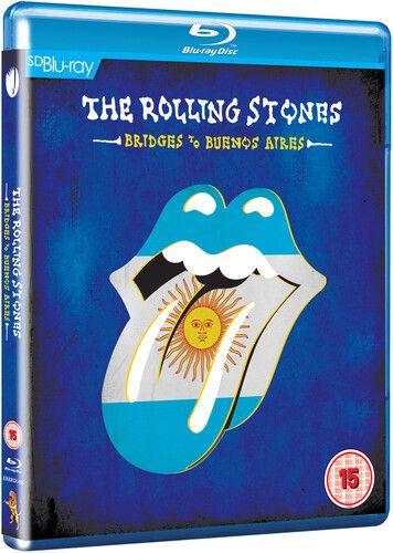 Rolling Stones Bridges To Buenos Aires - Blu Ray Importado  - Billbox Records