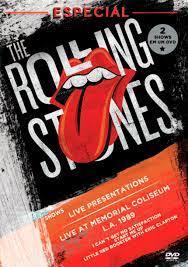 ROLLING STONES ESPECIAL LIVE PRESENTATIONS - LIVE MEMORIAL COLISEUM L.A. 1989 - DVD NACIONAL  - Billbox Records