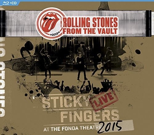 Rolling Stones - From The Vault - Sticky Fingers: Live At The Fonda Theater 2015 - Blu Ray + CD Importado  - Billbox Records